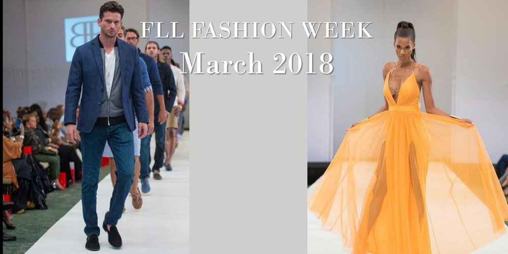 FLL Fashion Week – An Event Meant to Be Spent Outdoors. Sartorial Statements in Sunshine Ready Shades