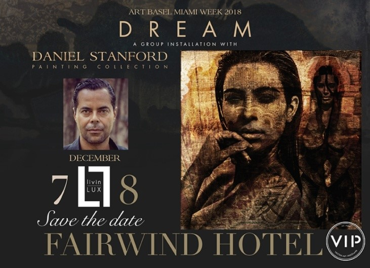 ARTBASIL DEC. 7  FAIRWIND HOTEL & 10TH COLLINS DINE & LOUNGE + MIAMI FASHION COLLECTIVE ARTBASIL ART DEBUT DEC. 8 GARDEN EXHIBIT