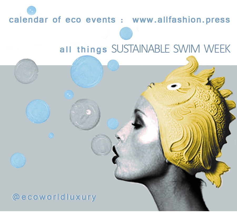 "IT IS ALL ABOUT SUSTAINABILITY AT SWIM WEEK 2020. BECAUSE THERE IS NO ""PLANET B"""