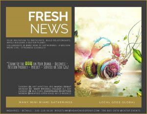 Join Co-Modeco – @EatUp.events & MiaPods in Pompano Beach celebrating World Rainforest Day – Int'l Day of the Tropics – Make Music Miami – Fete de la Musique