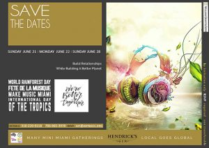 Many Mini Miami Meet-Ups Go Global With PaperWater Productions Live Streams – Calendar At A Glance